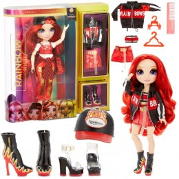 L.O.L Rainbow High Fashion Doll- Ruby Anderson MGA