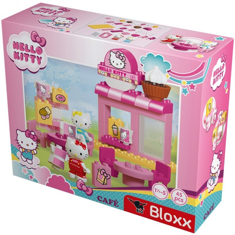 Klocki Big Bloxx Hello Kitty Kawiarnia + 2 figurki 45 elem. Big