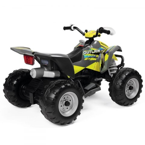 Peg Perego Quad Na Akumulator 12V Polaris Outlaw Citrus Peg Perego